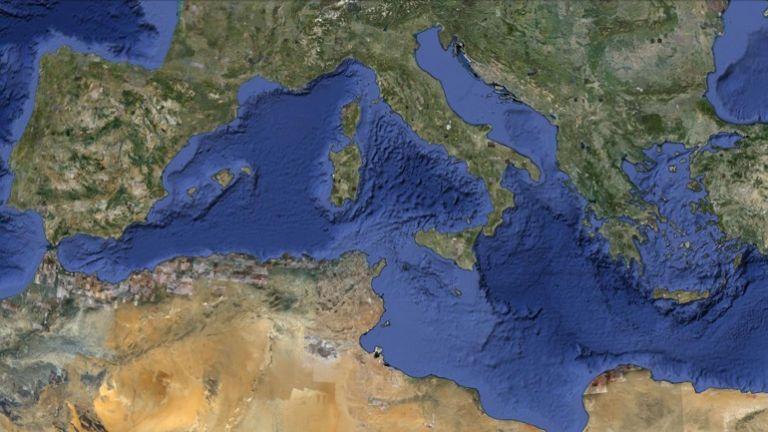 Η Ελλάδα στη Μεσόγειο   tanea.gr