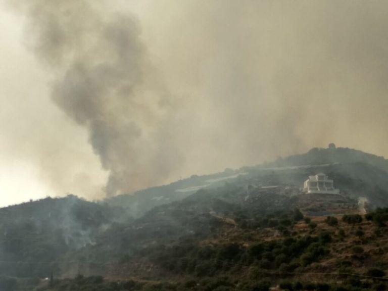 Φωτιές σε Μεσσηνία και Μάνη – Καλύτερη εικόνα από τα τρία μέτωπα   tanea.gr