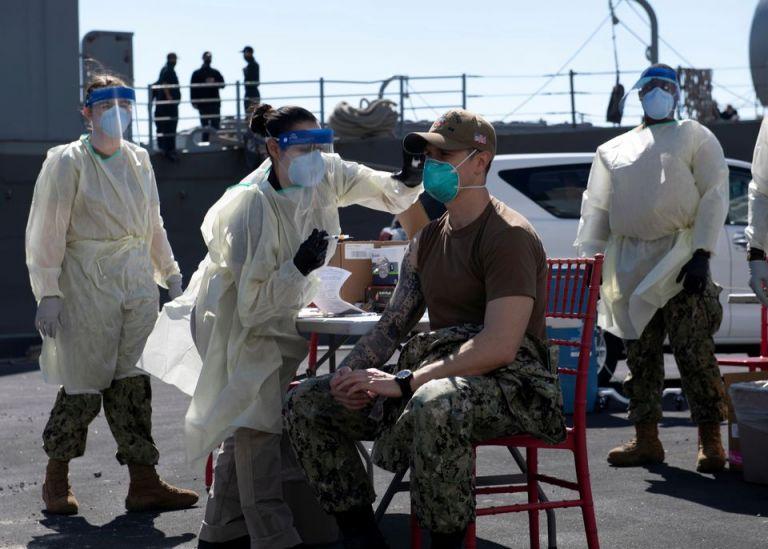Υποχρεωτικός ο εμβολιασμός στον αμερικανικό στρατό μετά την πλήρη έγκριση του Pfizer   tanea.gr