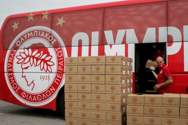Ο Ολυμπιακός στο πλευρό των πυρόπληκτων της Εύβοιας   tanea.gr