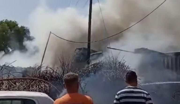 Ηράκλειο – Σε εξέλιξη αστική πυρκαγιά στην περιοχή του Γιόφυρου | tanea.gr
