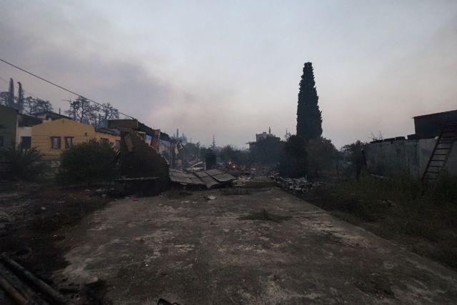 Φωτιά στην Εύβοια – Εντολή εκκένωσης της Σκεπαστής   tanea.gr