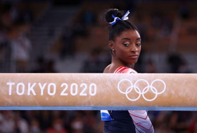 Ολυμπιακοί Αγώνες – Ενόργανη γυμναστική: Η Σιμόν Μπάιλς επέστρεψε και κέρδισε το χάλκινο μετάλλιο | tanea.gr
