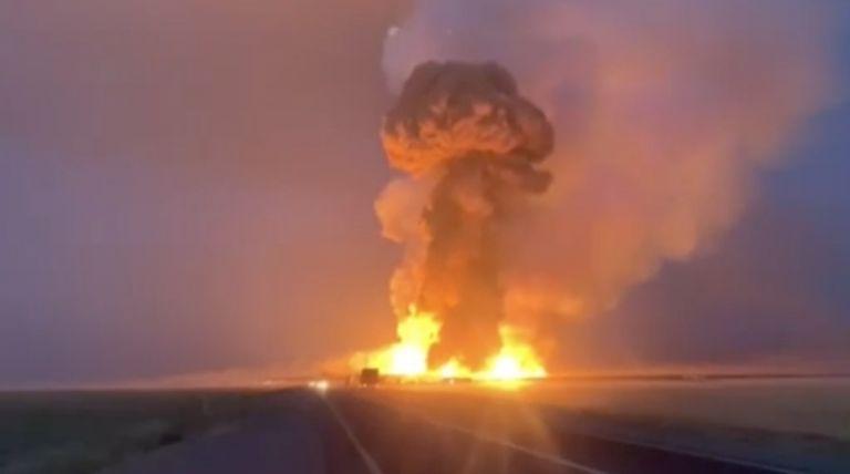 Πολύνεκρη έκρηξη σε αποθήκη εκρηκτικών συγκλόνισε το Καζακστάν | tanea.gr