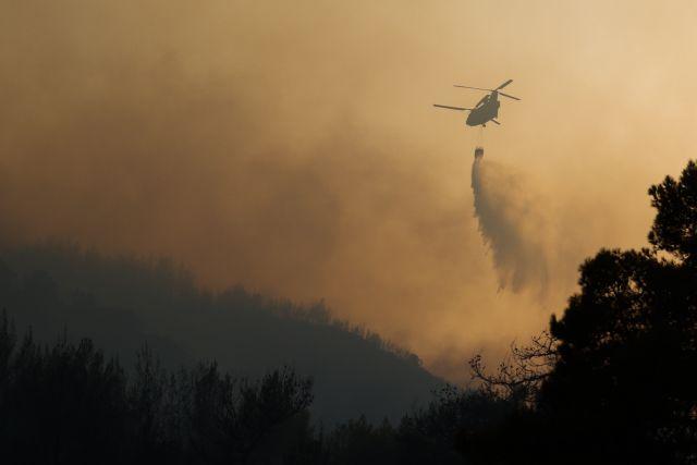 Φωτιά στην Αχαΐα – Δορυφορικές εικόνες από το πύρινο μέτωπο | tanea.gr