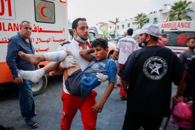 Νέες συγκρούσεις στη Λωρίδα της Γάζας με 41 τραυματίες Παλαιστίνιους   tanea.gr