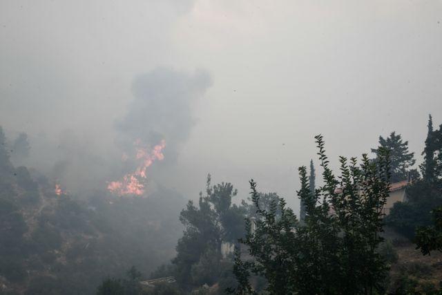 Φωτιά στην Αττική – Μήνυμα του 112 – «Εκκενώστε Μαραθώνα και Καλέτζι» | tanea.gr