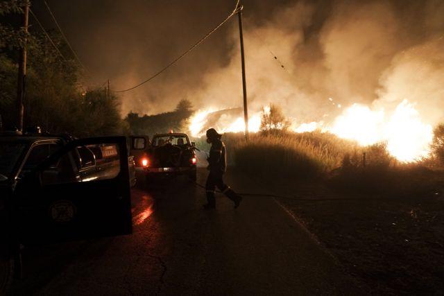 Πρόεδρος πυροσβεστών – Η κατάσταση είναι πολύ δύσκολη και τις επόμενες ώρες θα γίνει δυσκολότερη   tanea.gr