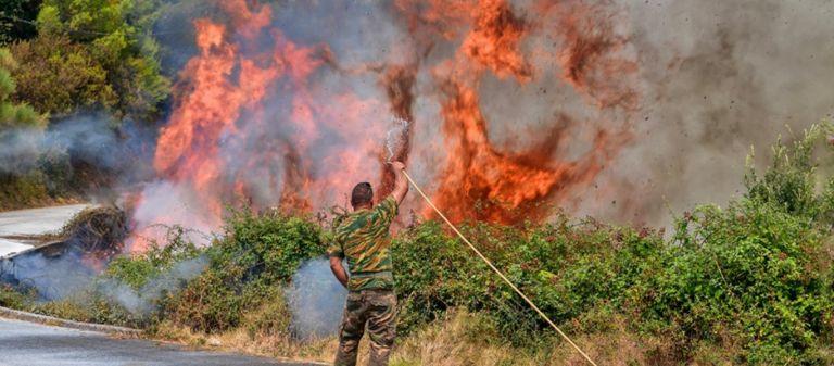 Φωτιά στην Αρκαδία – Κοντά σε σπίτια οι φλόγες σε Λιβαδάκι και Τουμπίτσι | tanea.gr