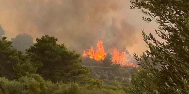 El pueblo de Maritsa en Rodas está siendo evacuado como medida de precaución - Continúa la batalla con los resurgimientos   tanea.gr
