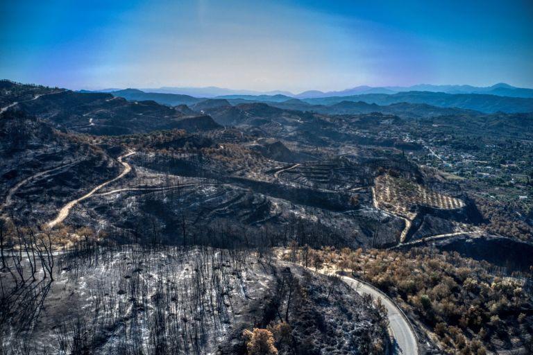 Ηλεία – Το μέγεθος της καταστροφής από τις πυρκαγιές αποτυπώνουν εικόνες από drone   tanea.gr