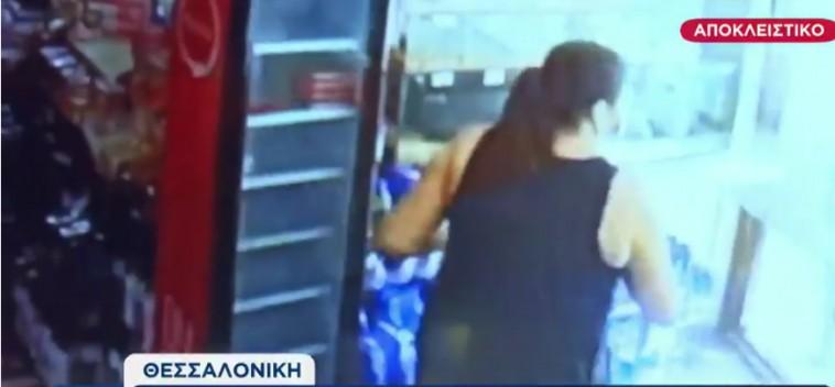 Θεσσαλονίκη – Ιδιοκτήτρια κάβας έδιωξε ληστή πετώντας μπουκάλια και απειλώντας τον με σφυρί | tanea.gr