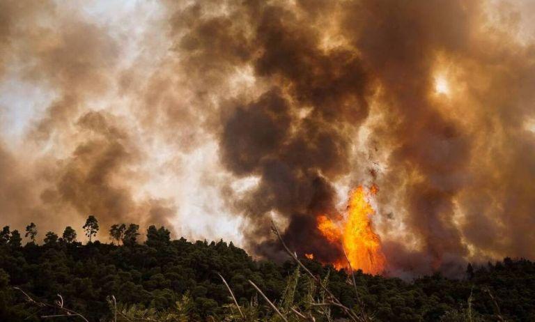 Φωτιά στην Εύβοια – Εντολή εκκένωσης της Λίμνης   tanea.gr