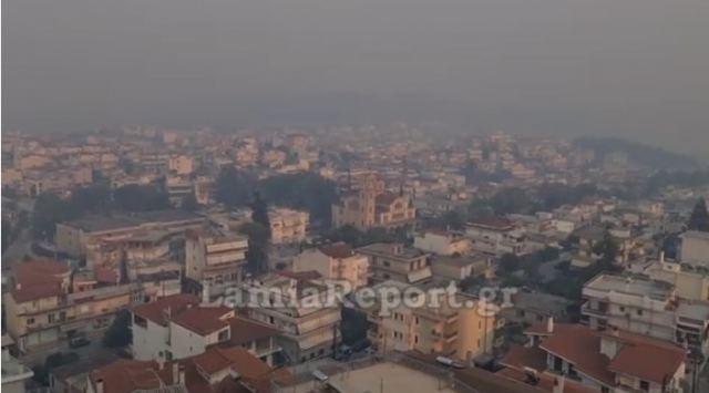 «Πνίγηκε» από τον καπνό της φωτιάς στην Εύβοια η Λαμία | tanea.gr