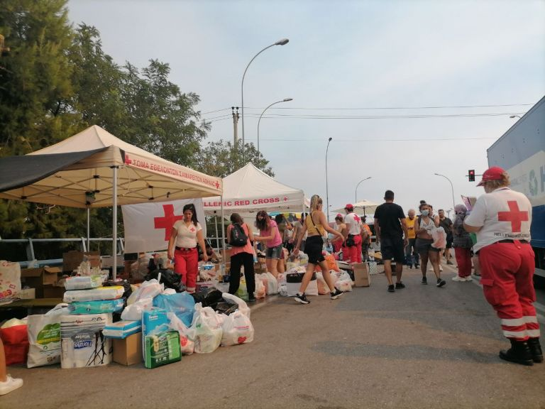 Συλλέγουν τρόφιμα και είδη πρώτης ανάγκης για τους πυρόπληκτους | tanea.gr