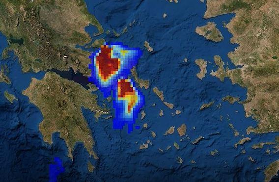 Γέμισε η Ελλάδα καπνούς από τις φωτιές – Καταστροφή στην Εύβοια | tanea.gr