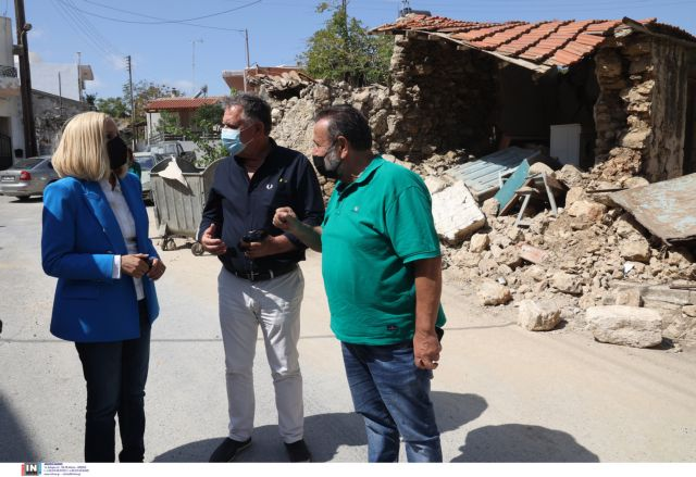 Γεννηματά από Κρήτη – Θετικά τα κυβερνητικά μέτρα για τους σεισμόπληκτους αλλά δεν αρκούν | tanea.gr