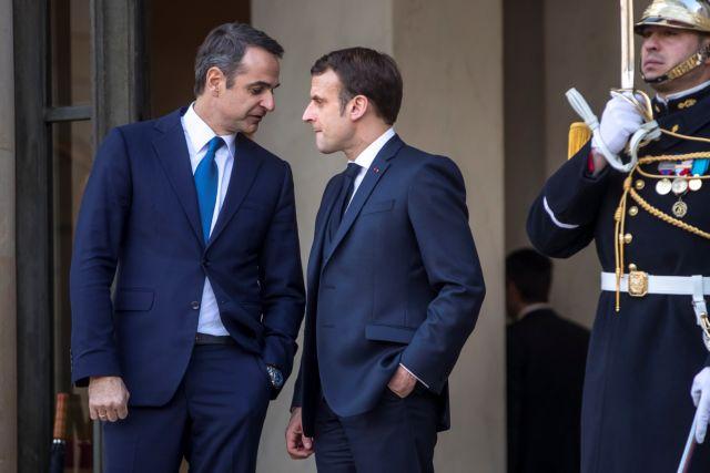 Τετ α τετ με τον Μακρόν στο Παρίσι ο Μητσοτάκης   tanea.gr