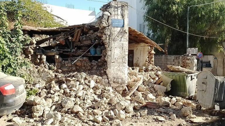 Ισχυρός σεισμός 5,8 Ρίχτερ στην Κρήτη   tanea.gr