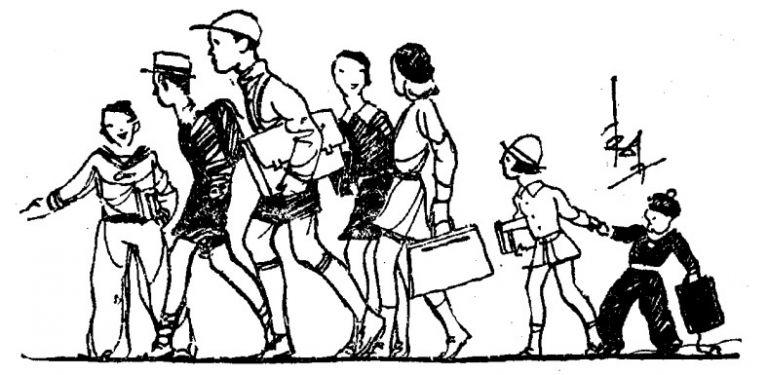Πρώτη μέρα σχολείο –  Ένα απολαυστικό και διαχρονικό κείμενο του Δημήτρη Ψαθά | tanea.gr