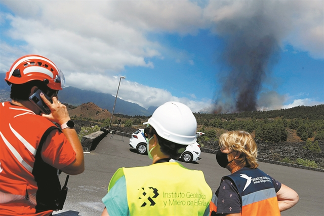 SOS για το ξύπνημα του ηφαιστείου της Λα Πάλμα   tanea.gr