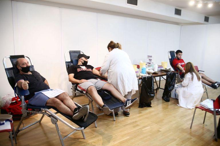 Ολυμπιακός – Εθελοντική αιμοδοσία στο «Γ. Καραϊσκάκης» | tanea.gr