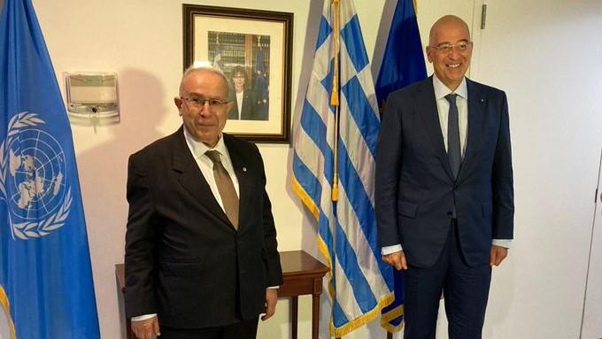 Δένδιας – Συνάντηση με τον Αλγερινό ΥΠΕΞ με θέμα τη Λιβύη   tanea.gr