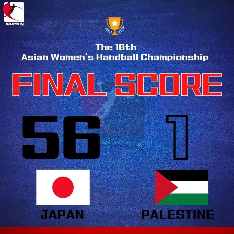 Ιαπωνία-Παλαιστίνη 56-1 σε αγώνα χάντμπολ | tanea.gr