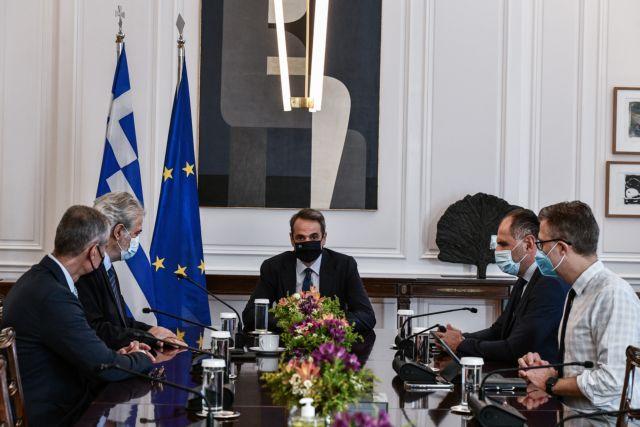 Μητσοτάκης – Η πρώτη σύσκεψη με την ηγεσία του υπ. Κλιματικής Κρίσης και Πολιτικής Προστασίας   tanea.gr