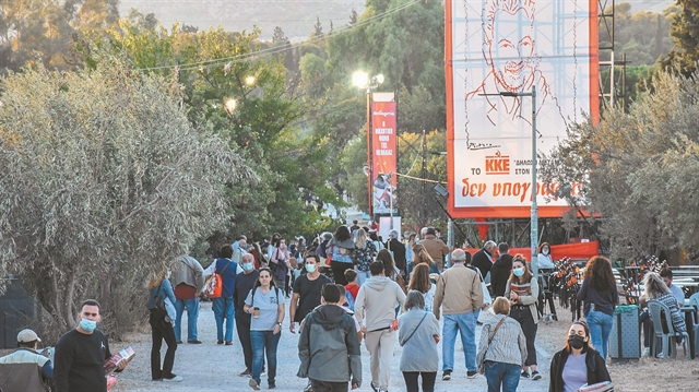 Ανοιξαν οι πύλες του 47ου Φεστιβάλ της ΚΝΕ-Οδηγητή | tanea.gr
