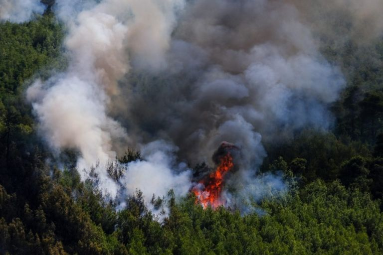 Φωτιά στο Κατακάλι Κορινθίας – Σε συναγερμό η πυροσβεστική   tanea.gr