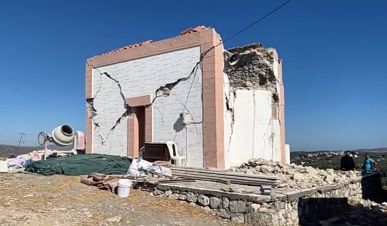 Earthquake in Crete – Tents are set up for 2,500 people who were left homeless – The area is in a state of emergency | tanea.gr