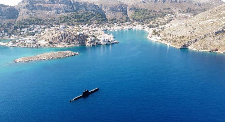 Στο Καστελόριζο το υποβρύχιο «Παπανικολής» – Το μήνυμα του Α/ΓΕΕΘΑ | tanea.gr