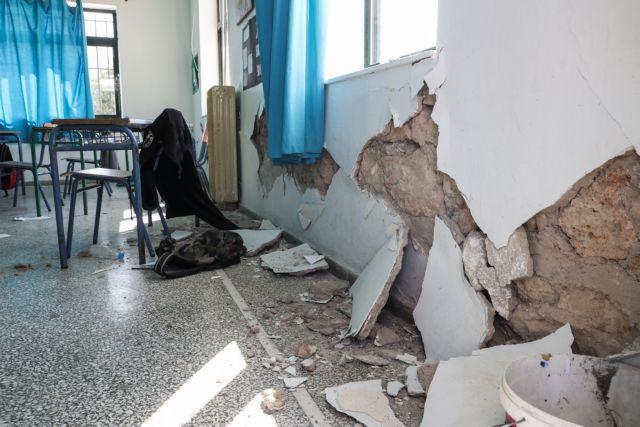 Σεισμός στην Κρήτη – Μεγάλες καταστροφές σε σχολεία – Αγνωστο πότε θα λειτουργήσουν | tanea.gr