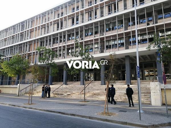 Θεσσαλονίκη – Τηλεφώνημα για βόμβα στα δικαστήρια   tanea.gr