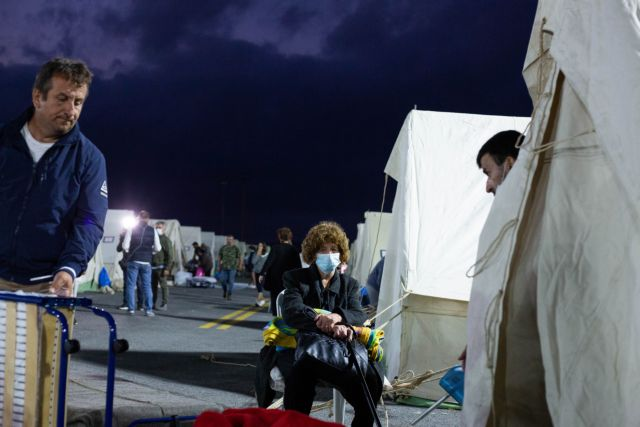 Σεισμός στην Κρήτη – Κρούσματα κοροναϊού στον καταυλισμό | tanea.gr