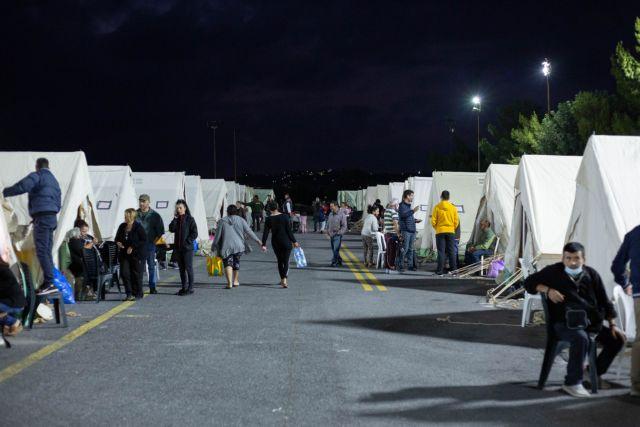 Σεισμός στο Αρκαλοχώρι – Κρούσματα γαστρεντερίτιδας στους άστεγους σεισμοπαθείς   tanea.gr